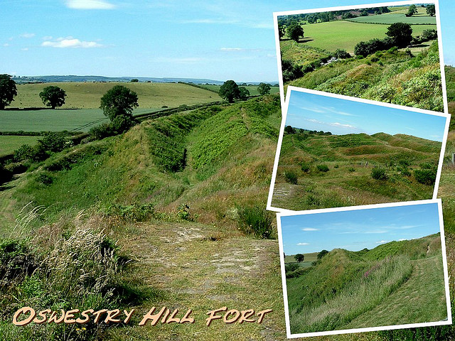 Old Oswestry Hillfort: an impressive, but vulnerable, site. Image from http://www.flickr.com/photos/bispham2