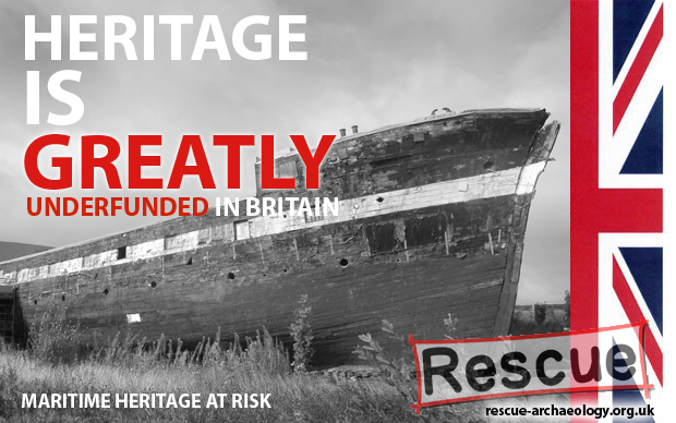 Heritage is greatly underfunded in Britain